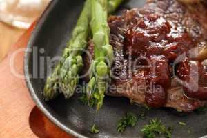Asparagus And Steak