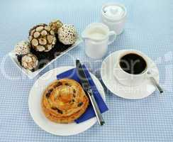 Danish With Coffee