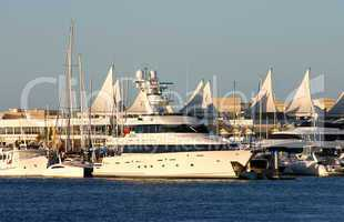 Superyacht On The Gold Coast