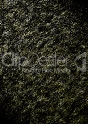 Wild stone wall