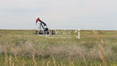 Oil Pump In The Middle Of Prairies