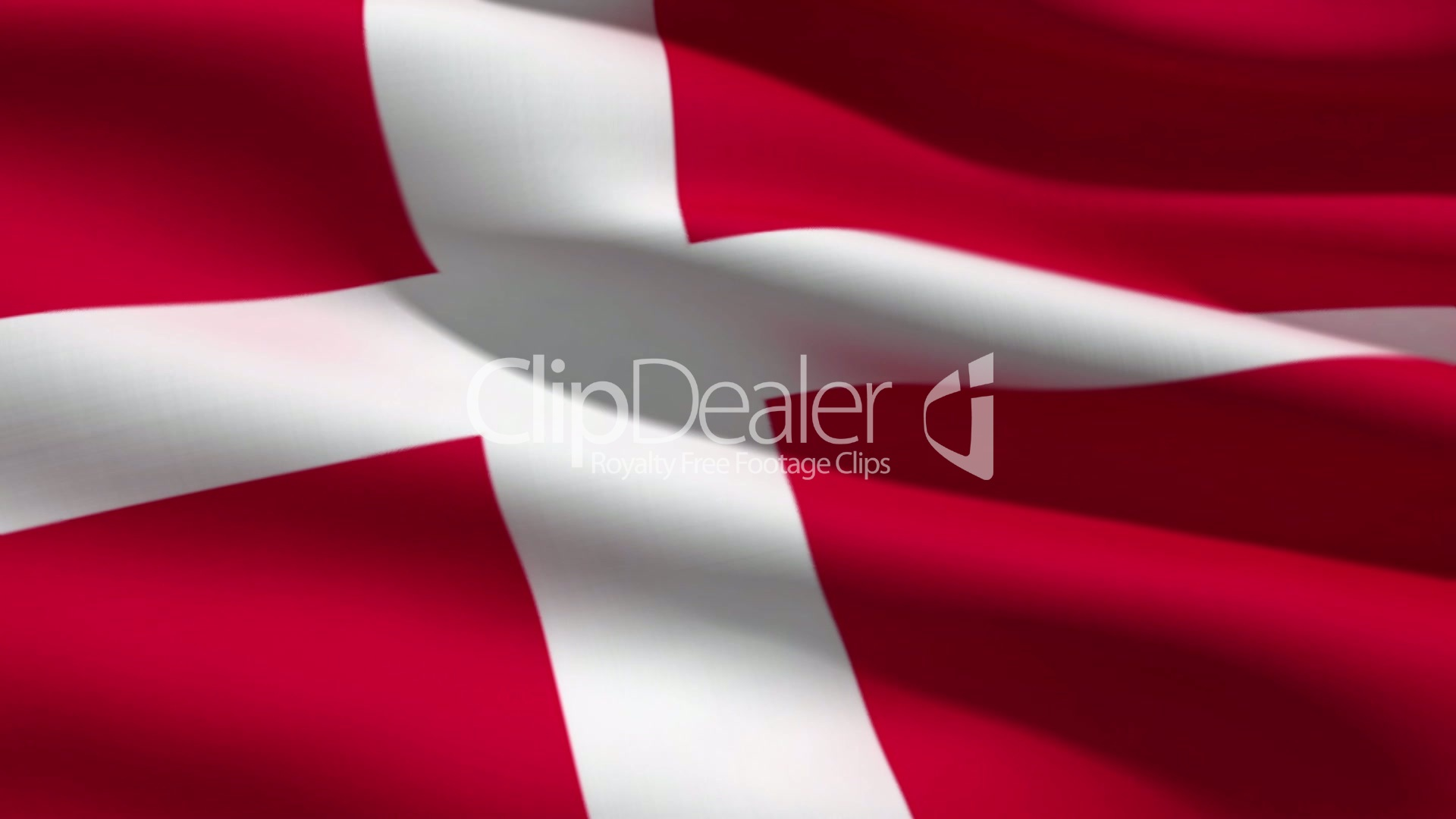 danish flag royalty free video and stock footage