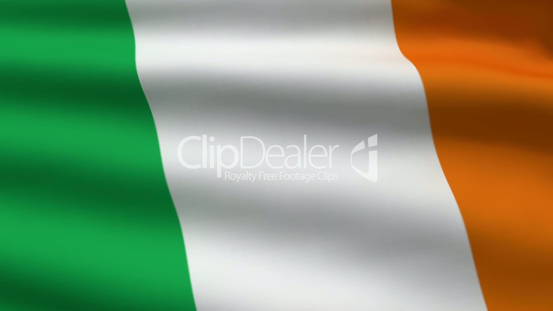 irish flag royalty free video and stock footage
