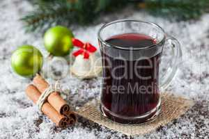 Glühwein zu Weihnachten / mulled wine for christmas