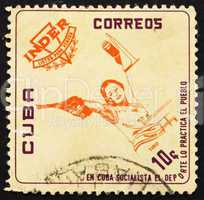 Postage stamp Cuba 1962 Pistol Shooting