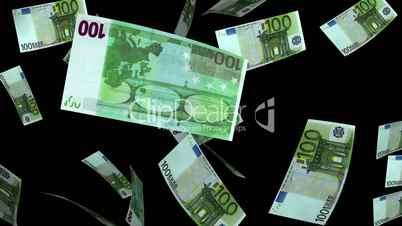 Falling Euro (Loop + Matte)