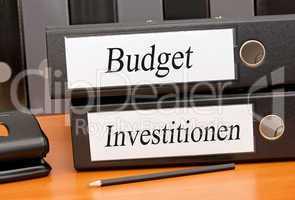 Budget und Investitionen