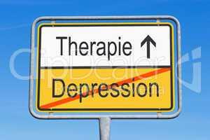 Depression und Therapie