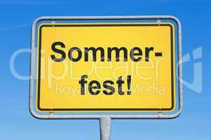 Sommerfest !