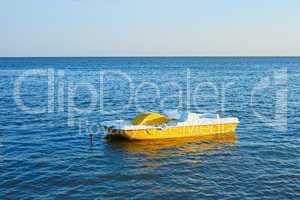 Walking catamaran