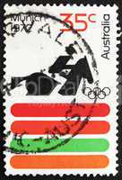 Postage stamp Australia 1972 Equestrian, 20th Olympic Games, Mun