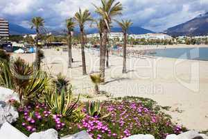 Beach in Puerto Banus