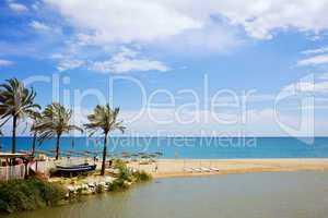 Beach and Sea on Costa del Sol