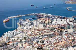 Gibraltar from Above