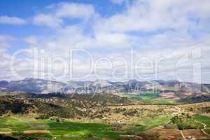 Andalucia Landscape in Spain