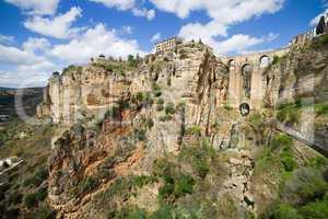 Ronda Rocks in Andalusia