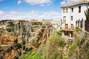Ronda Town in Spain