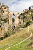 Ronda Bridge in Andalucia