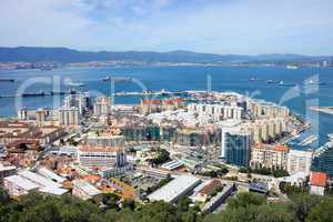 Gibraltar Town and Bay
