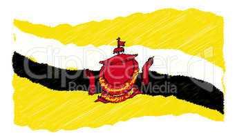 sketch - Brunei