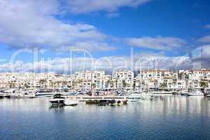 Puerto Banus Marina on Costa del Sol