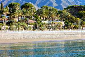 Marbella Beach Summer Holiday Scenery
