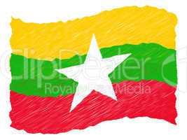 Sketch -  Burma - Myanmar