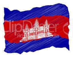 Sketch - Cambodia