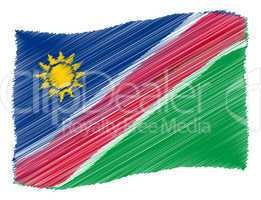 Sketch - Namibia