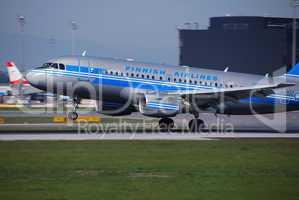 finnish airlines beim start