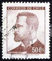 Postage stamp Chile 1966 German Riesco, President of Chile