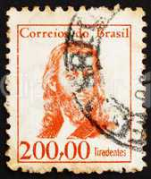 Postage stamp Brazil 1965 Tiradentes, Revolutionary
