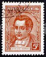 Postage stamp Argentina 1935 Mariano Moreno, Politician