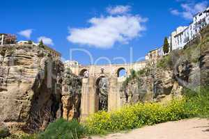 Ronda Bridge in Spain