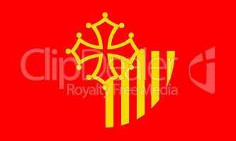 Languedoc Roussillon flag