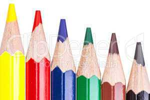 Colored pencils for school