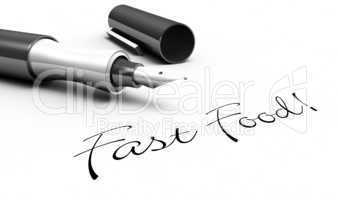 Fast Food! - Stift Konzept