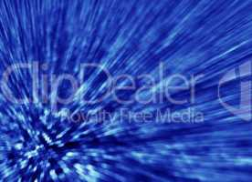 blue abstract background light streaks from hexagons