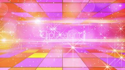 multicolor shining festive background loop
