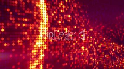 circle pixel waves abstract loopable background