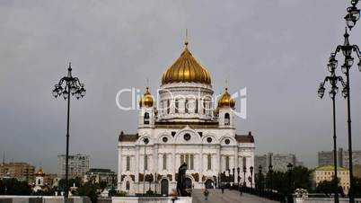 Cathedral of Christ the Savior, timelapse