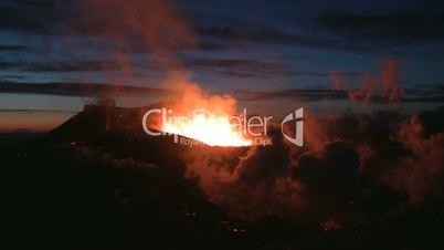 Volcanic Eruption in Iceland (Eyjafjallajokull) Marz 2010