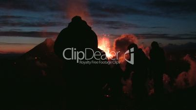 Volcanic Eruption in Iceland (Eyjafjallajokull) Marz 2010.