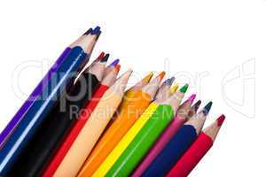 Farbige Buntstifte