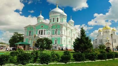 Saint Seraphim-Diveyevo Monastery in village Diveyevo, Russia