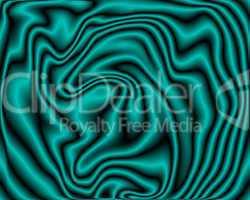 Soft Green Neon Velvet Folds