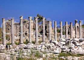 Ruins of old city Side