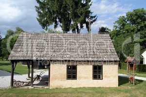 Farmhouse in village