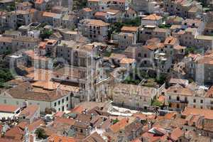 Roofs in Hvar