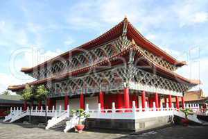 Corner of Confucius temple